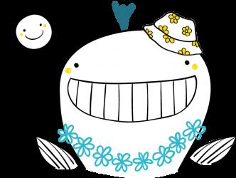 wieloryb slonce